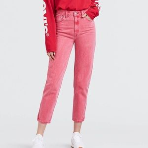 Levi's mom jeans high rise jeans